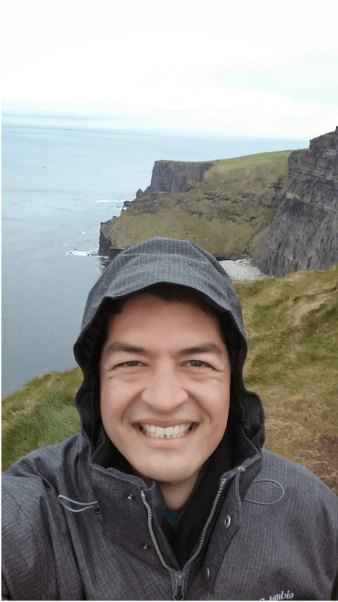 Cliffs Of MoherSelfie