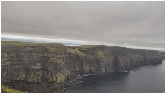 Cloudy Cliffs of Moher