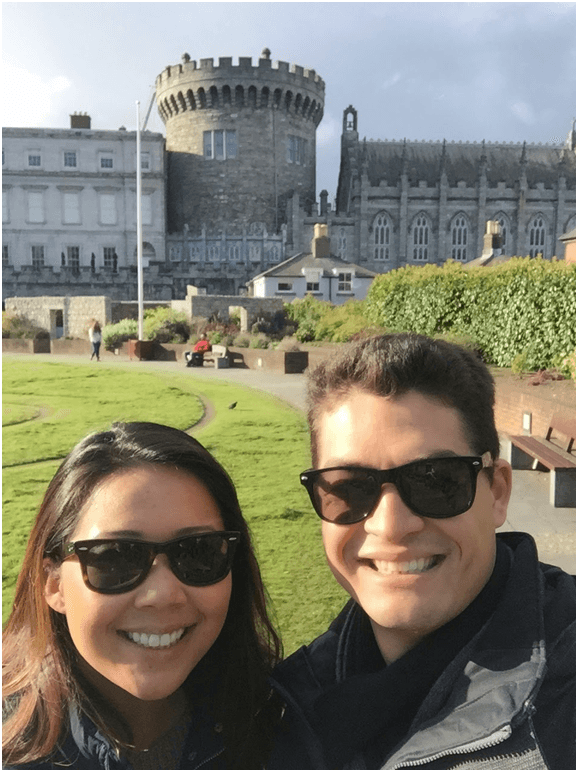 Dublin Castle Selfie