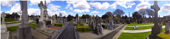 Glasneviin Cemetery Panorama