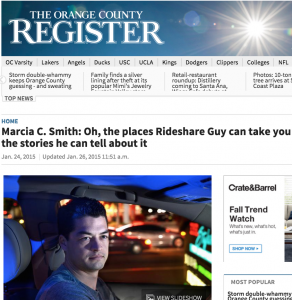 Harry Campbell - The Rideshare Guy - OC Register Feature