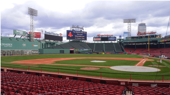 Touring Fenway Park