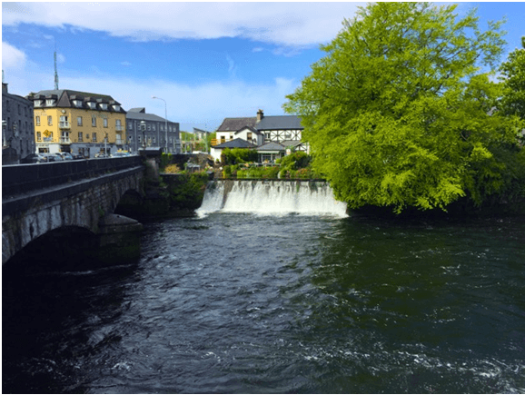 Waterfall on The River Corrib