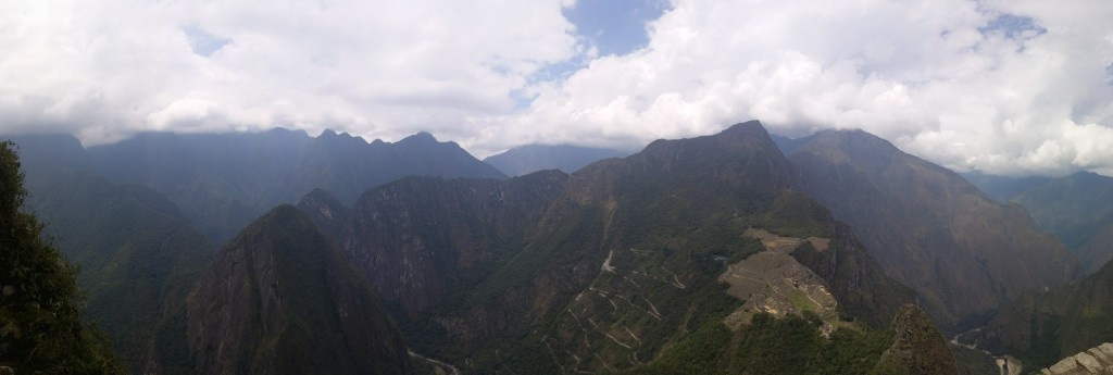 Another View of View Of Machu Picchu From The Top of Huayna Picchu
