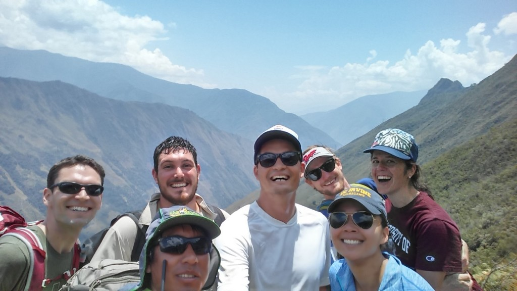 Group Selfie From the Summit
