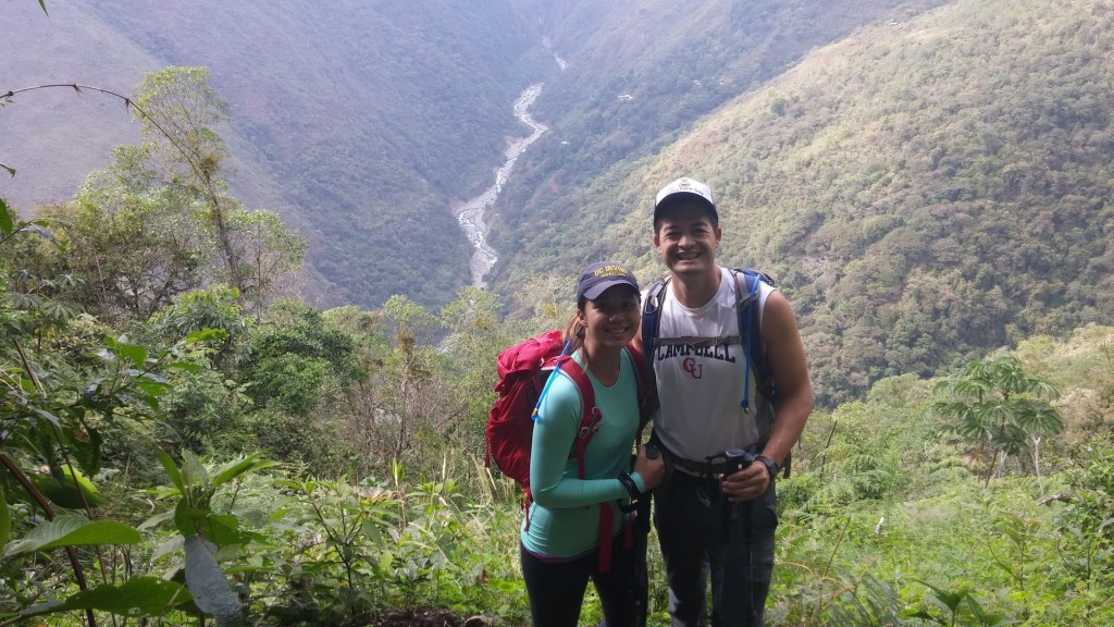 Hiking Down To Aguas Calientes