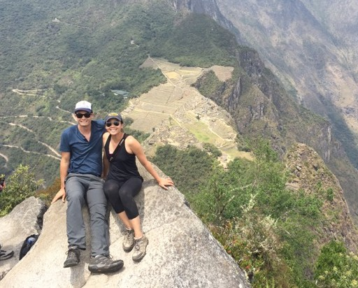 Standing At The Top Of Huayna Picchu