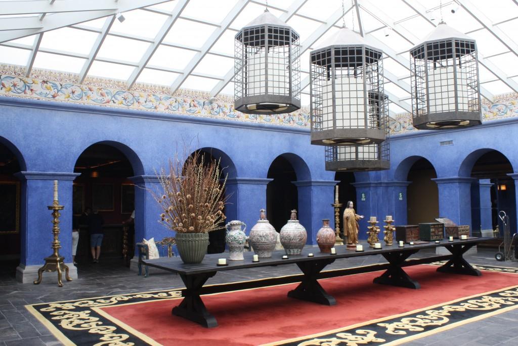 Lobby at The Palacio Del Inka - Cusco, Peru