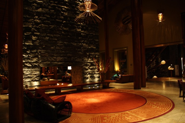 The Lobby at Tambo Del Inka