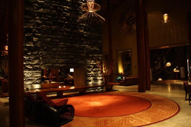 The Lobby at Tambo Del Inka