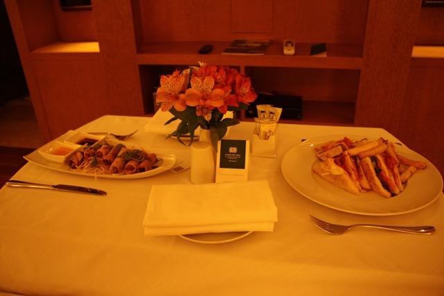 Room Service at Tambo Del Inka