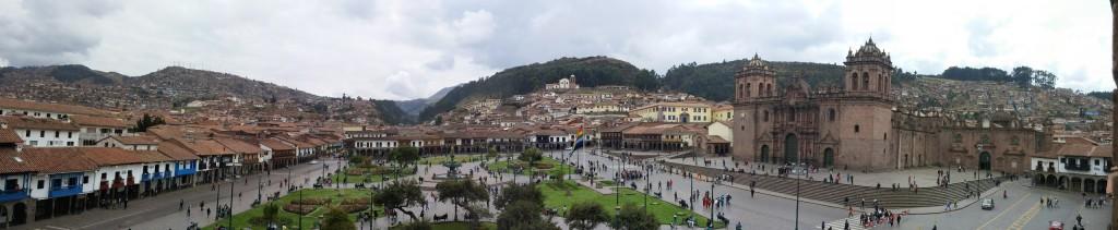 Main Plaza of Cusco