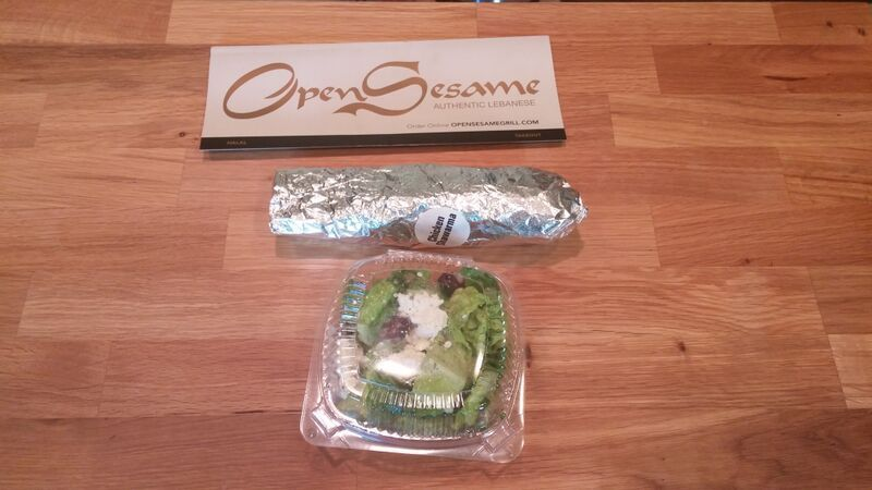 Chicken Schwarma From Open Sesame